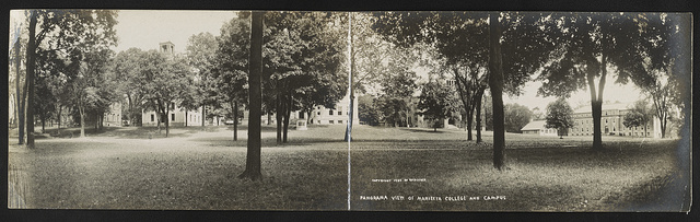 Panorama view of Marietta College and campus