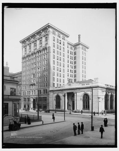 Penobscot Building, Detroit, Mich.