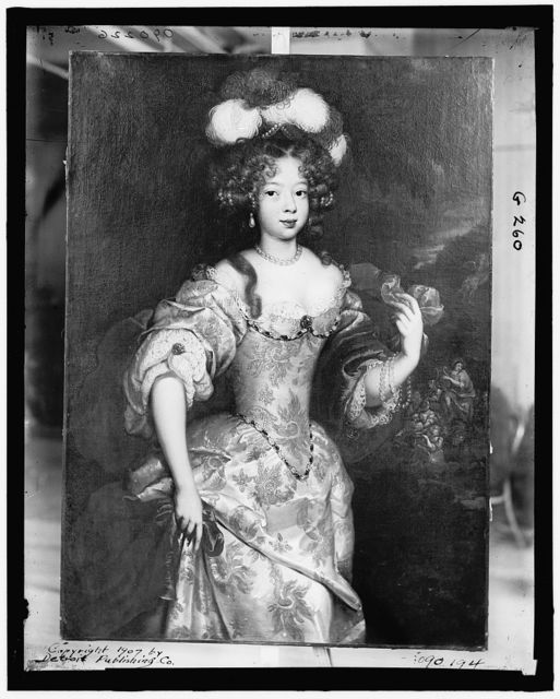 [Portrait of the Duchesse de Mazarin]