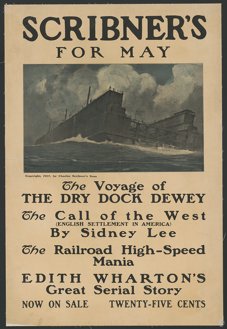 Scribner's for May. The voyage of the dry dock dewey...