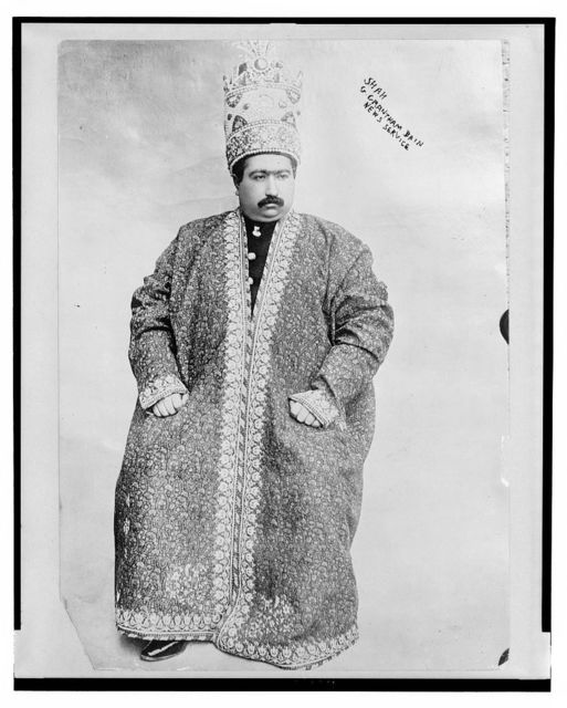 Shah of Persia, Mohammed Ali Mirzi, Dec. 19, 1907 / G. Grantham Bain News Service.