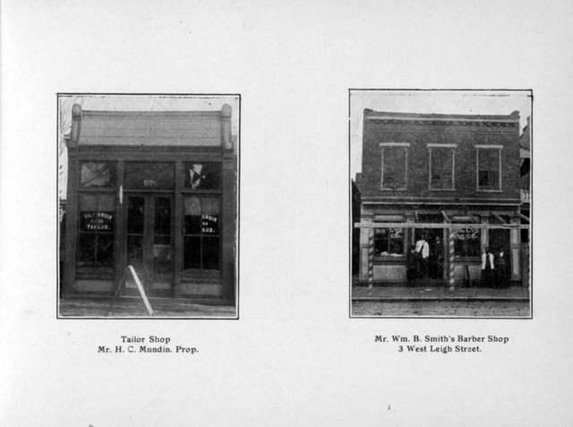 Souvenir views: Negro enterprises & residences, Richmond, Va.