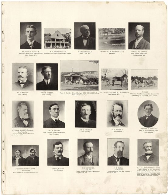 Standard atlas of Walworth County, Wisconsin : including a plat book of the villages, cities and townships of the county, patrons directory, reference business directory and departments devoted to general information analysis of the system of U.S. land surveys /