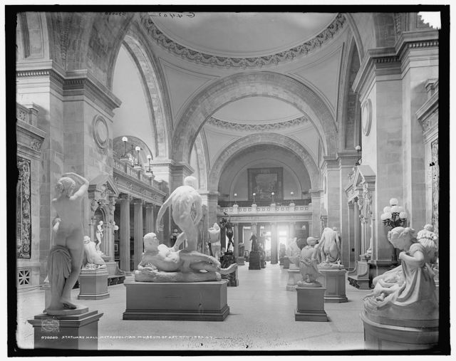 Statuary Hall, Metropolitan Museum of Art, New York, N.Y.