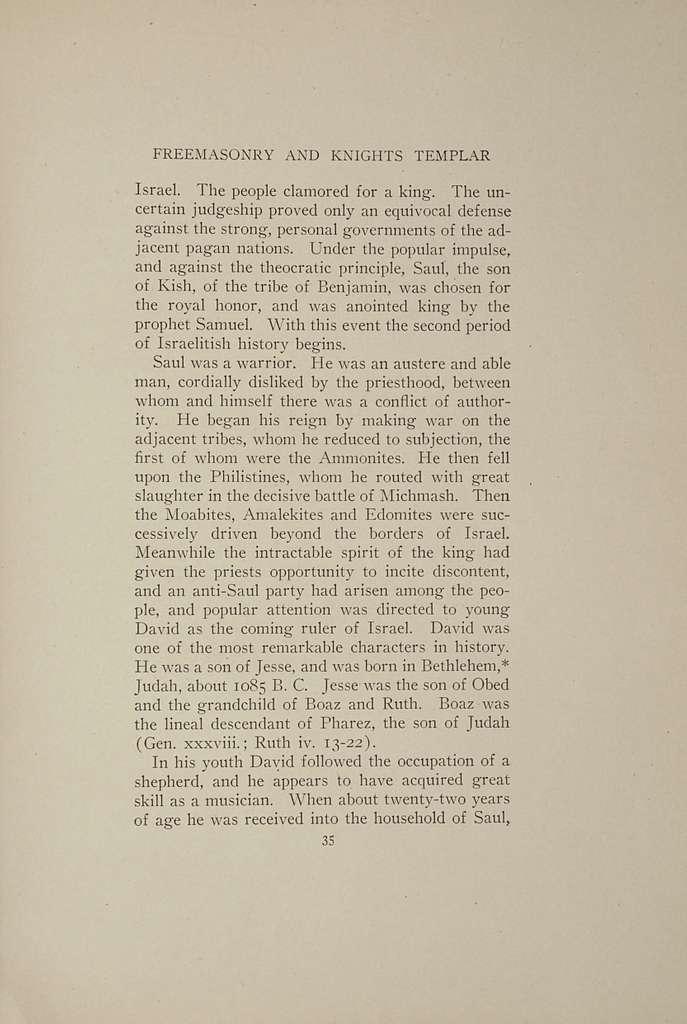 The origin of freemasonry and Knights templar, - PICRYL