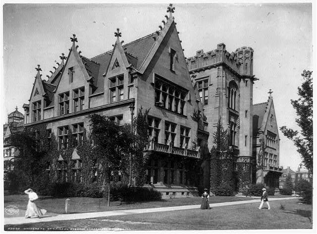 University of Chicago, Ryerson Laboratory, Chicago, Ill.
