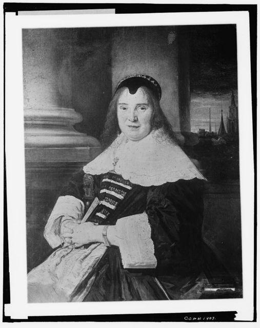 Wife of Frans Hals