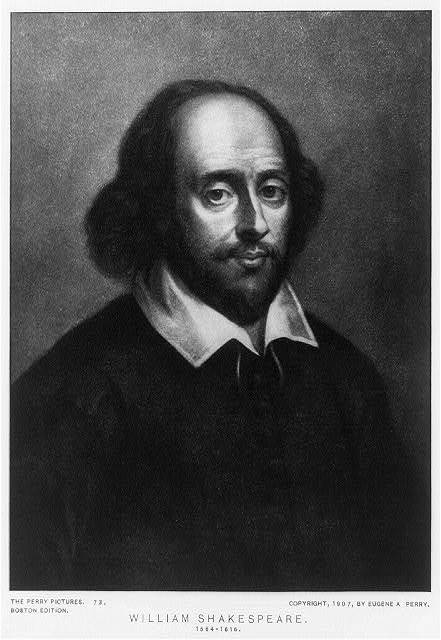 William Shakespeare, 1564-1616
