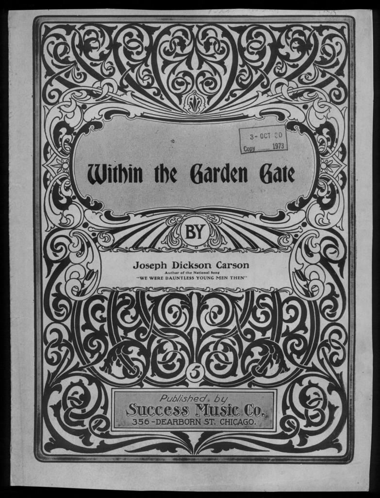 Within the garden gate