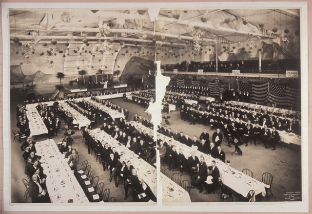 [YMCA banquet, Milwaukee, Wis.]