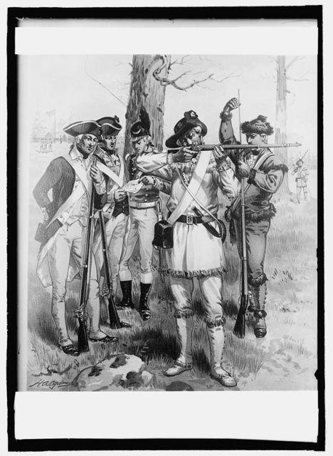 1776-1779, U.S. Army uniform, Con[...] army