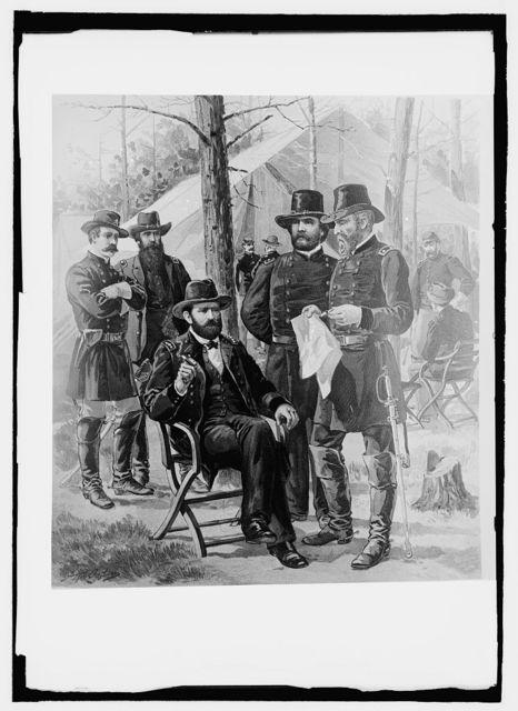 1861-66, U.S. Army uniforms, Lt. Gen'l - Maj. Genl., Brig. Genl. Staff & [...]