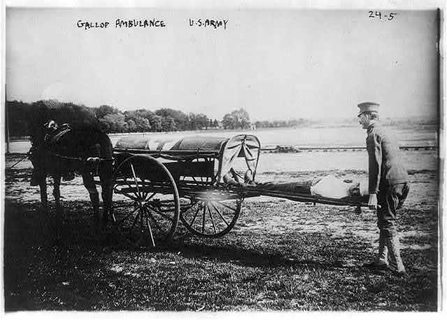 Ambulances - Gallop ambulance, U.S. Army