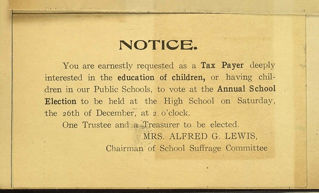 Annual School Election Notice