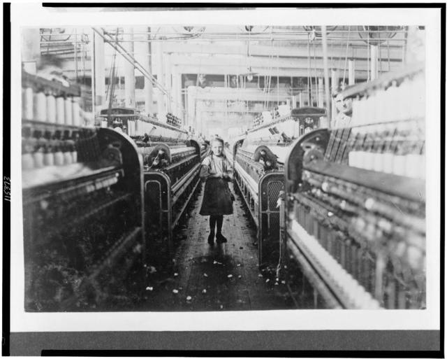 Another of the many small children working in Mollahan Mills, Newberry, S.C. Dec. 3/08 Witness Sara R. Hine.  Location: Newberry, South Carolina / Photo by Lewis W. Hine.
