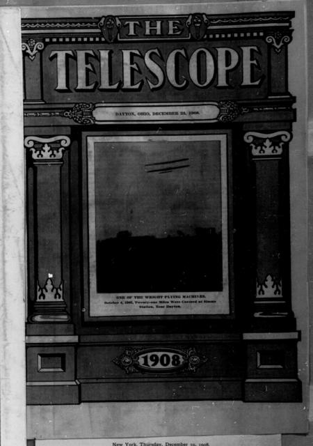 [Article (untitled), The Religious Telescope, 23 December 1908]