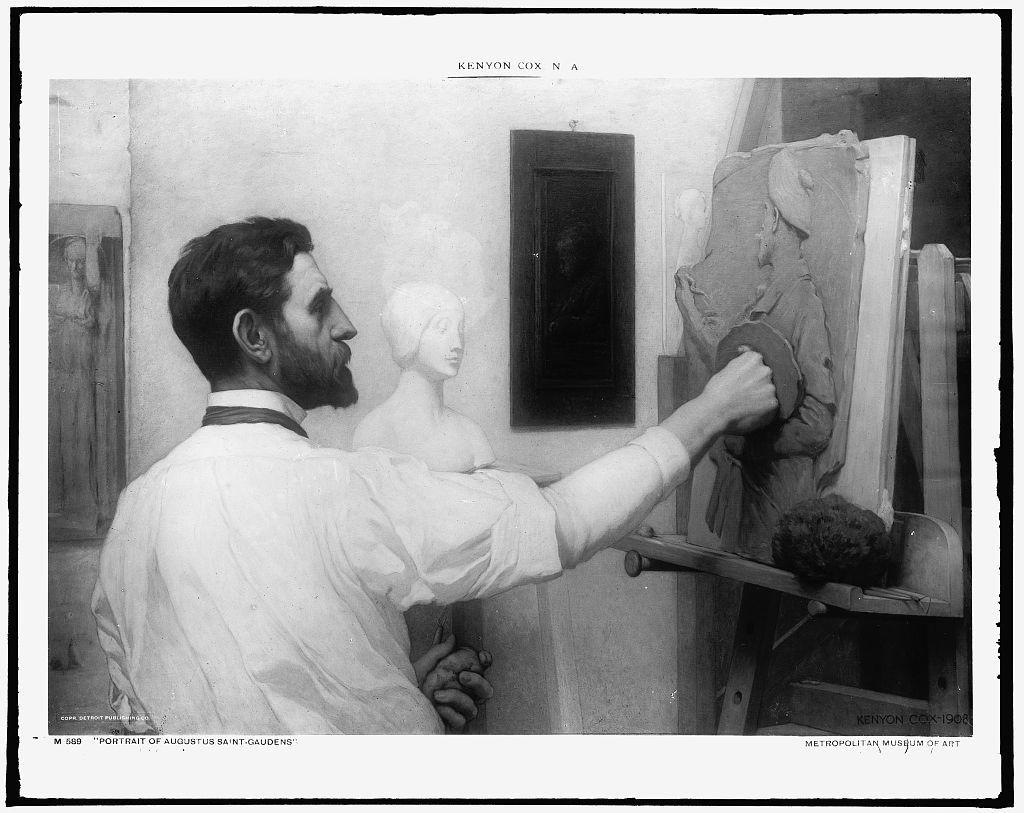 [Augustus Saint-Gaudens, head-and-shoulders portrait]