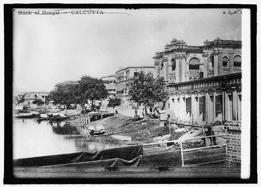 Bank of Bengal on the Hoogly River, Calcutta