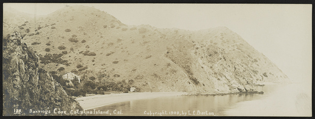 Banning's Cove, Catalina Island, Cal. / Lester Clement Barton.