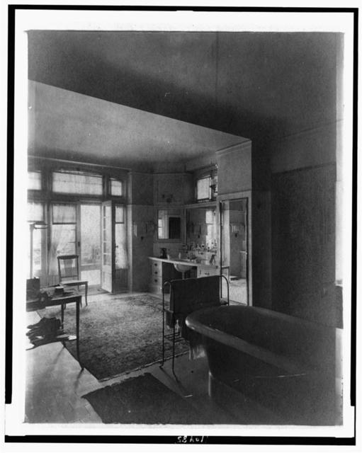 [Bathroom in home of Edmund Cogswell Converse, Greenwich, Connecticut]