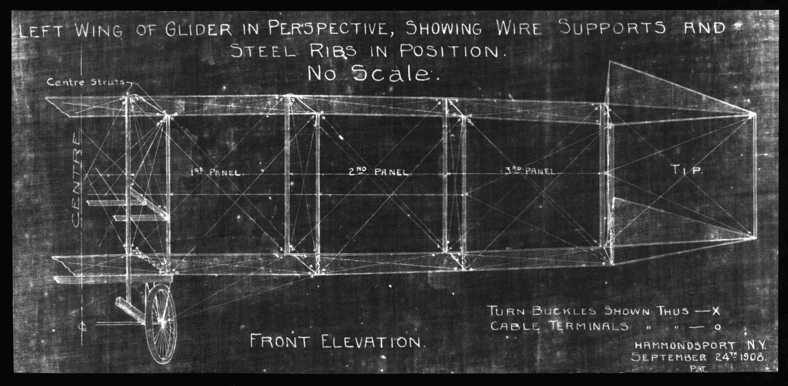 Blueprint, September 24, 1908