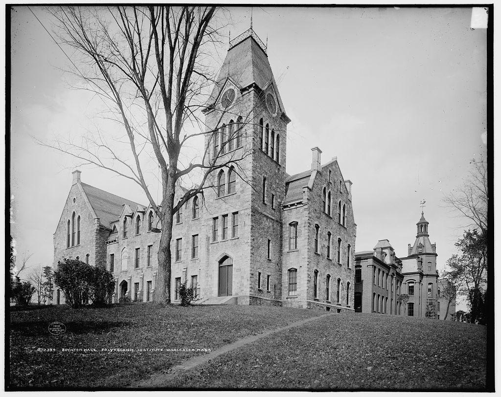 Boynton Hall, [Worcester] Polytechnic Institute, Worcester, Mass.