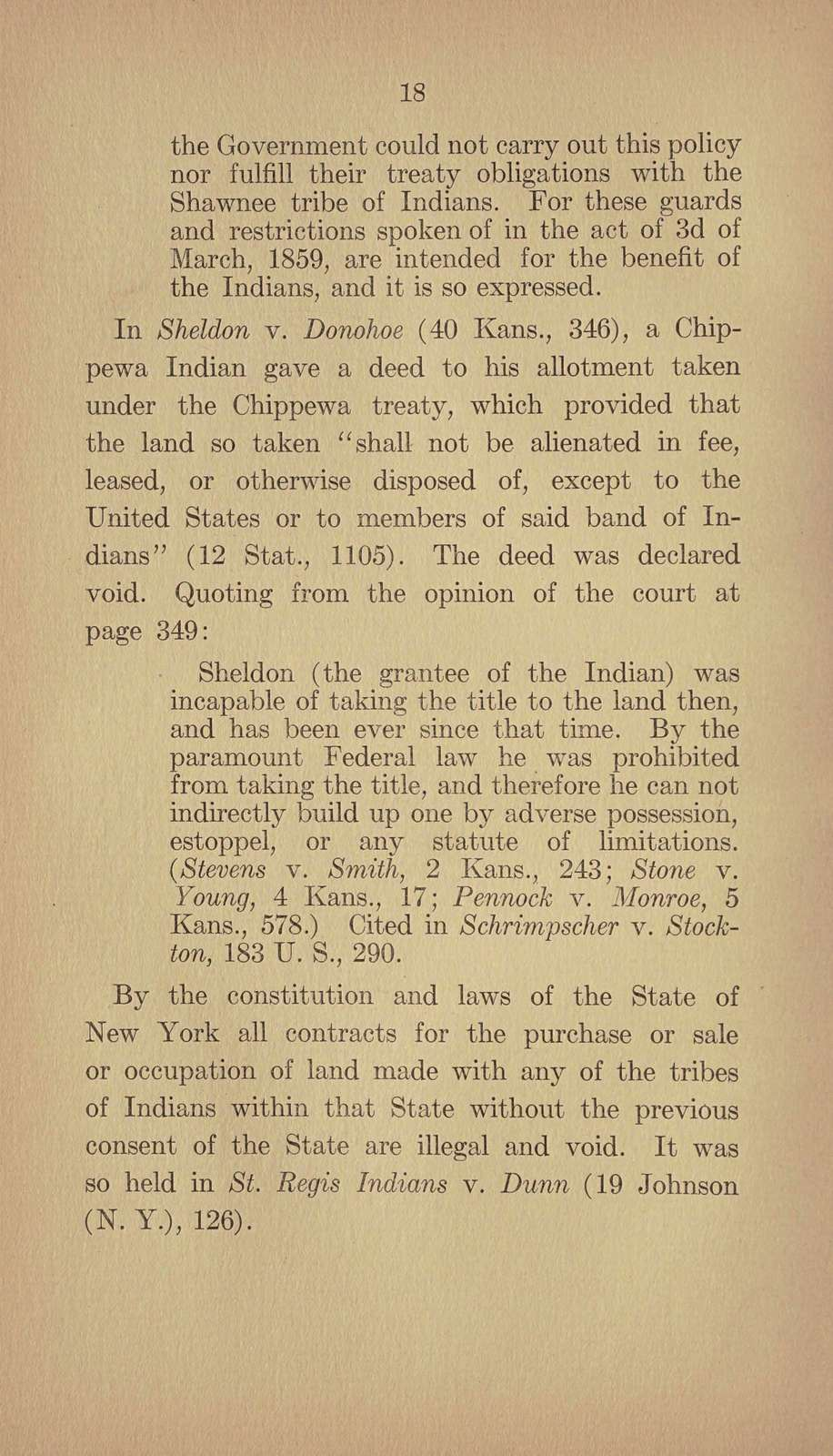 Brief. Suits brought by the United States to cancel deeds to Indian allotments