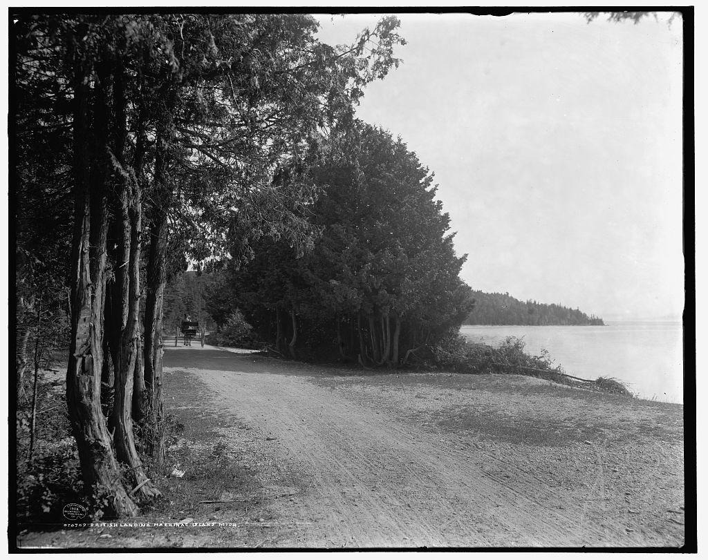 British Landing, Mackinac Island, Mich.