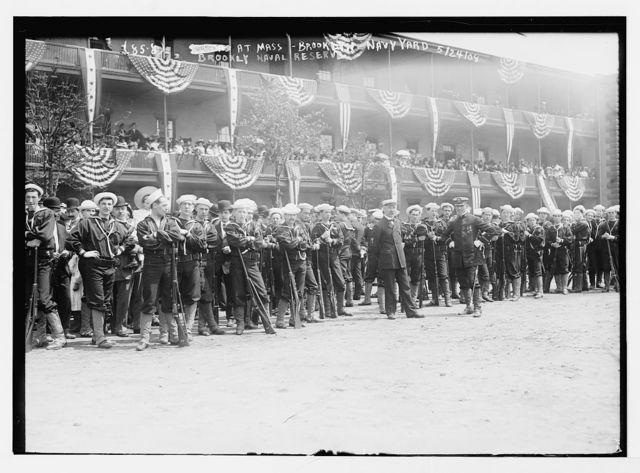 Brooklyn Naval Reserve at Mass, Brooklyn Navy Yard, N.Y.