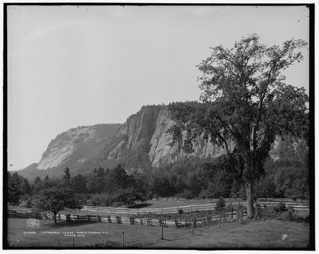 Cathedral Ledge, North Conway, N.H., White Mts.