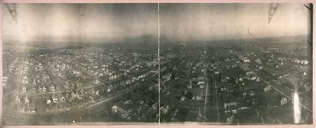 Chicago Heights, Ill. from Lawrence Captive Airship