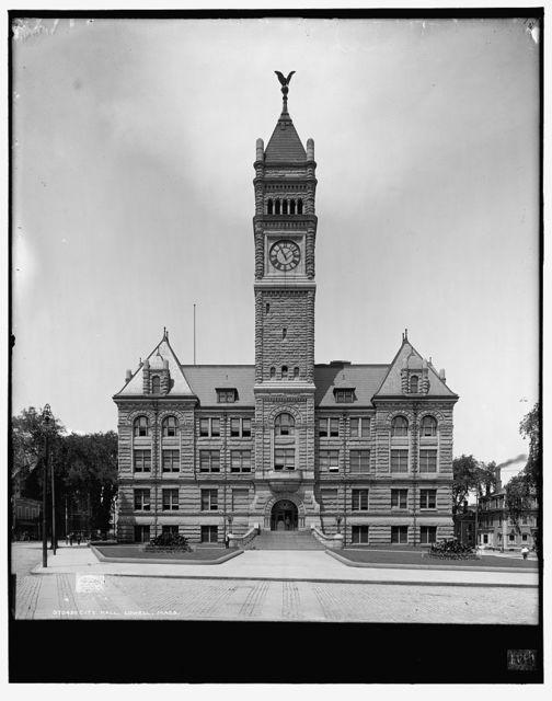 City Hall, Lowell, Mass.