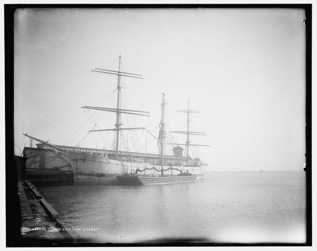 Clipper ship King George