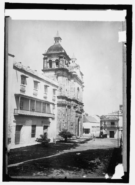Colombia Cartagenia, San Pedro Claver Church as it was in Bol[...] time