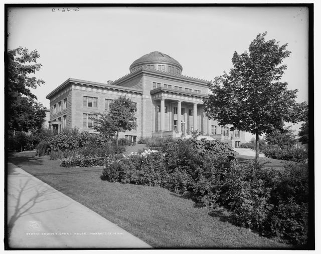 County Court House, Marquette, Mich.