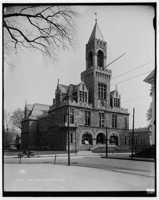Court House, Springfield, Mass.