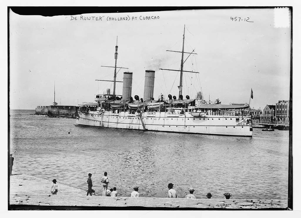 """De Ruijter"" (Holland) at Curacao (12508) (81714)"
