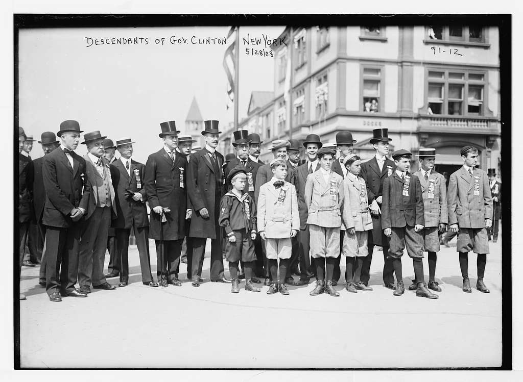 Decendants of Gov. Clinton, New York
