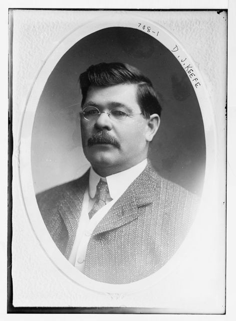 D.J. Keefe, cameo portr.