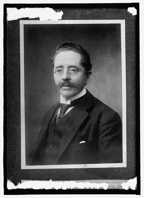 Don Hector Velesquez, Minister, Paraguay