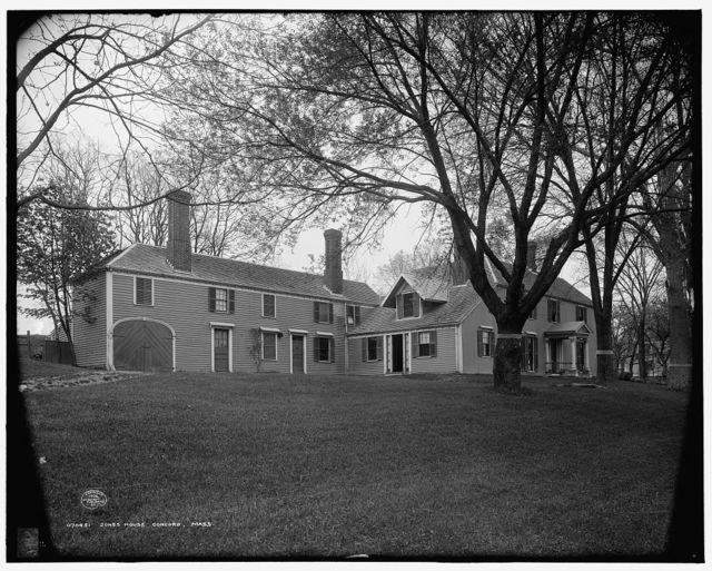 [Elisha] Jones House, Concord, Mass.