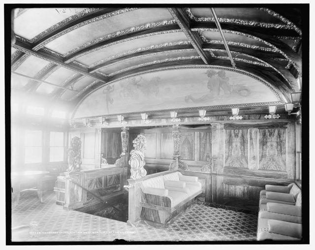 Entrance to convention hall, Str. City of Cleveland, [Detroit & Cleveland Navigation Co.]