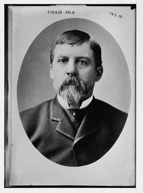 Eugene Hale, cameo portr.