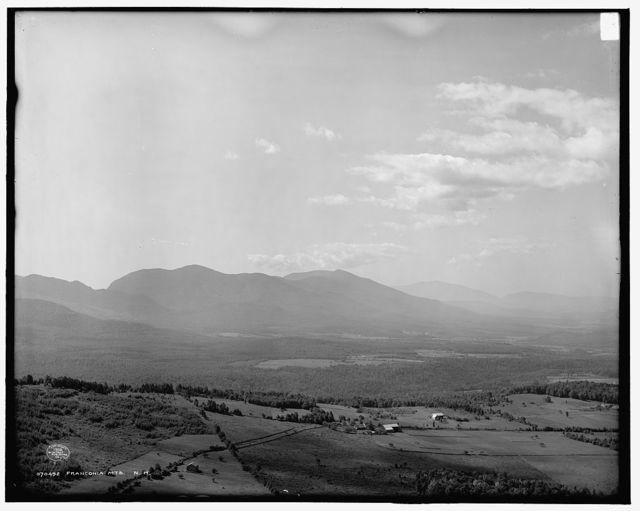 Franconia Mts., N.H.