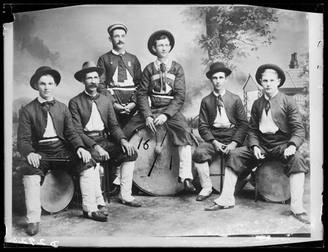 Free Silver Drum Corps, Kearney, Nebraska.
