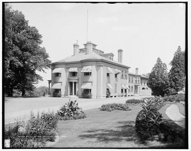 Gen[eral] B. F. Butler's Residence, Lowell, Mass.