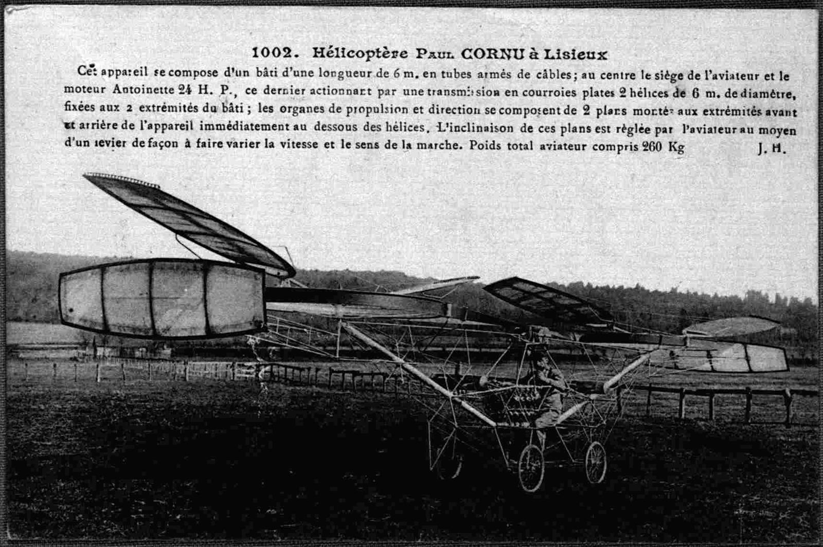 General Correspondence:  Cornu, Paul, 1908, undated