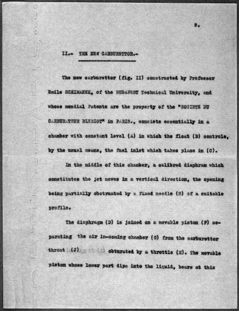 General Correspondence:  Hevesy, Guillaume de, 1908-1912, 1932