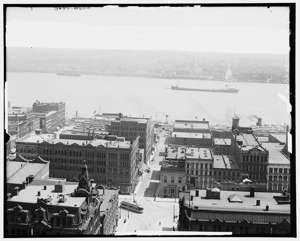 [General view, Detroit, Mich.]