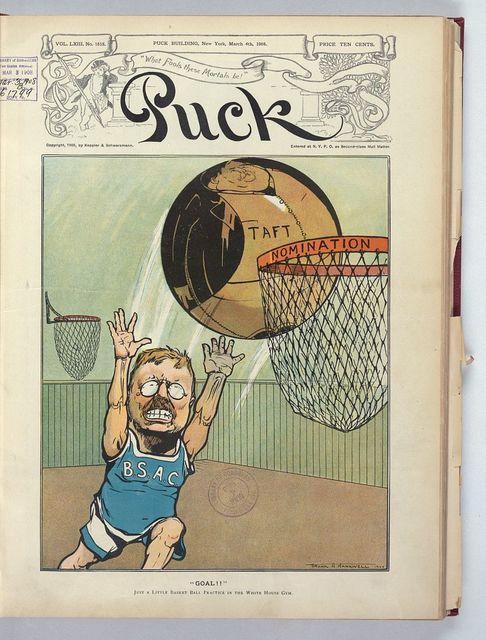 """""""Goal!"""" / Frank A. Nankivell 1908."""